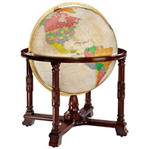 Diplomat Globe Antique Oceans By Replogle