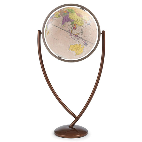 Columbo Antique Ocean Globe By Zoffoli