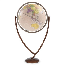 "24"" Columbo Antique Ocean Globe By Zoffoli"