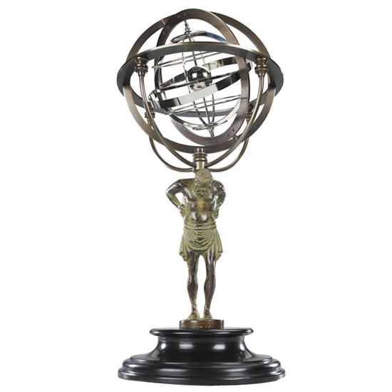 Atlas 18th Century Armillary