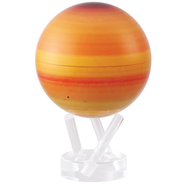 mova 6 inch saturn revolving globe