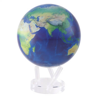 "8.5"" Satellite View Natural Earth Revolving Globe"