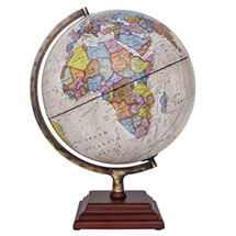 "Atlantic Globe by Waypoint Geographic | 12"" Desktop Globe"