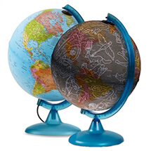 Earth & Sky 2 In 1 Exploration Globe by Waypoint Geographic