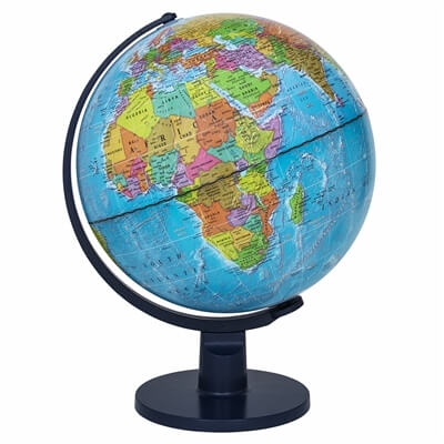 "Scout II Illuminated Kids Globe by Waypoint Geographic | 12"" Desktop Globe"