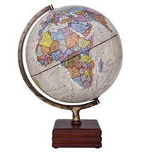 "Horizon II Illuminated Globe by Waypoint Geographic | 12"" Desktop Globe"