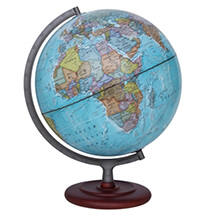 "Mariner II Illuminated Globe by Waypoint Geographic | 12"" Desktop Globe"