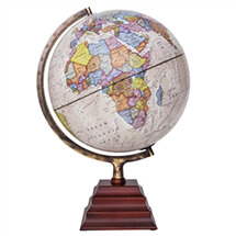 "Peninsula II Illuminated Globe by Waypoint Geographic | 12"" Desktop Globe"