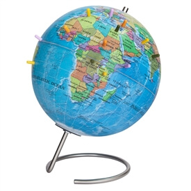 MagneGlobe 9-in Blue Ocean Magnetic Globe by Waypoint Geographic