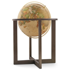 San Marino 20-in Floor Globe Classic Antique Ocean by Waypoint Geographic