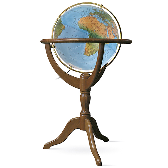 Geneva 20-in Floor Globe Blue Ocean by Waypoint Geographic