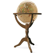 Geneva 20-in Floor Globe Classic Antique Ocean by Waypoint Geographic