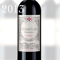 5110 CH.GAZIN POMEROL 2013 750ml x 12 [OWC12, Stock in France]