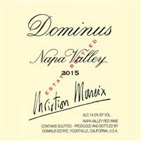 A096 DOMINUS NAPA VALLEY 2015 750ml [Stock in France]