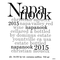 A097 NAPANOOK DOMINUS ESTATE NAPA VALLEY 2015 750ml x 12 [OC12, Stock in France]