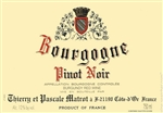 2015 DOMAINE THIERRY & PASCALE MATROT BOURGOGNE PINOT NOIR 750ML