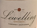 2013 LEWELLING VINEYARDS CABERNET SAUVIGNON 750ML