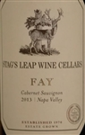 2013 STAG'S LEAP CABERNET SAUVIGNON FAY VINEYARD 750ML