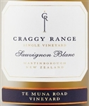 2016 CRAGGY RANGE SAUVIGNON BLANC TE MUNA ROAD VINEYARD 750ML