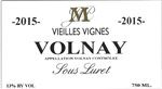 "2015 JEAN PHILIPPE MARCHAND VOLNAY VIEILLES VIGNES ""750ML"""
