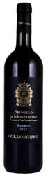 2015 COLLOSORBO BRUNELLO DI MONTALCINO RISERVA 750ML