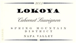 2012 LOKOYA CABERNET SAUVIGNON SPRING MOUNTAIN DISTRICT 750ML