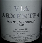 2015 VIA ARXENTEA TREIXADURA Y GODELLO 750ML