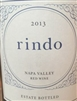 2016 KENZO ESTATE RINDO RED WINE 750ML