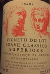 2015 INAMA SOAVE CLASSICO SUPERIORE VIGNETO DU LOT 750ML