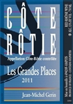 2013 JEAN-MICHEL GERIN COTE ROTIE LES GRANDES PLACES 750ML