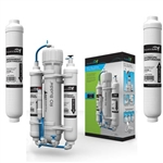 AquaticLife RO Buddie 100 GPD Reverse Osmosis System with Replacement Carbon & Sediment Cartridges Package