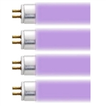 "AquaticLife 24"" 460/620nm Purple 24 Watt T5 Fluorescent Lamp Item 410223"