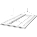 "AquaticLife 36"" WHITE T5/HO Hybrid Light w/ Mounting System for LED Lights"