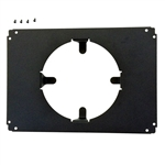 "AquaticLife Hybrid Mounting System 16""/18"" Bracket, Rectangular 7.75"" x 5.375"" (4.25"" Opening)"