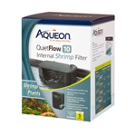 Aqueon QuietFlow 10 Internal Shrimp Filter
