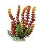 "AquaTop Plastic Cabomba-like Aquarium Plant, Yellow/Brown, 12"" tall"