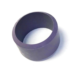 Aqua Ultraviolet Rubber Seal for Quartz Sleeve, Purple