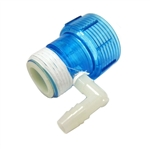 Aqua Ultraviolet Quartz Cap Clear Blue TOP for OZONE UNITS