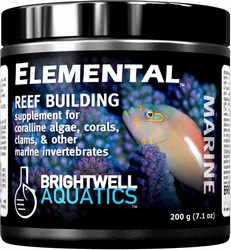Brightwell Aquatics Elemental Dry Reef Building Supplement, 400 grams