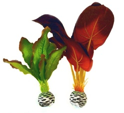 BiOrb Silk Plant Pack Small Red Green