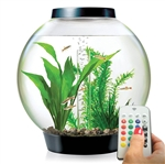 BiOrb Classic 15 Liter Black Aquarium MCR Lighting