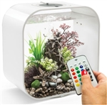 BiOrb Life 30 Liter White Aquarium with MCR Lighting