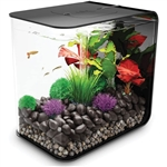 BiOrb Flow 30 Liter Black Aquarium w/ LED Fixture