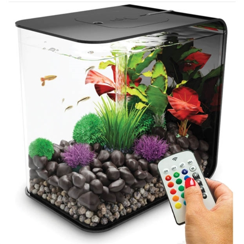 biOrb® FLOW 15 by Oase Aquarium Kit with Aeration Filtration /& Lighting