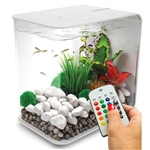 BiOrb Flow 15 Liter White Aquarium with MCR Lighting
