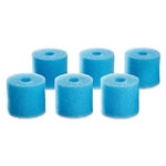OASE BioMaster 250, 350 & 600 Replacement 45ppi Prefilterfoam Set of 6