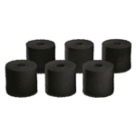 OASE BioMaster 250, 350 & 600 Replacement Carbon Pre-Filter Foam 6-Pack