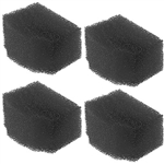 OASE BioPlus 50, 100 & 200 Replacement Carbon Filter Foam 4-Pack