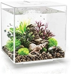BiOrb Cube 30 Liter White Aquarium w/ LED Lighting
