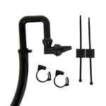 "CPR U-Tube Return Jet w/ 5 feet of 3/4"" Black Hose and Mounting Kit"